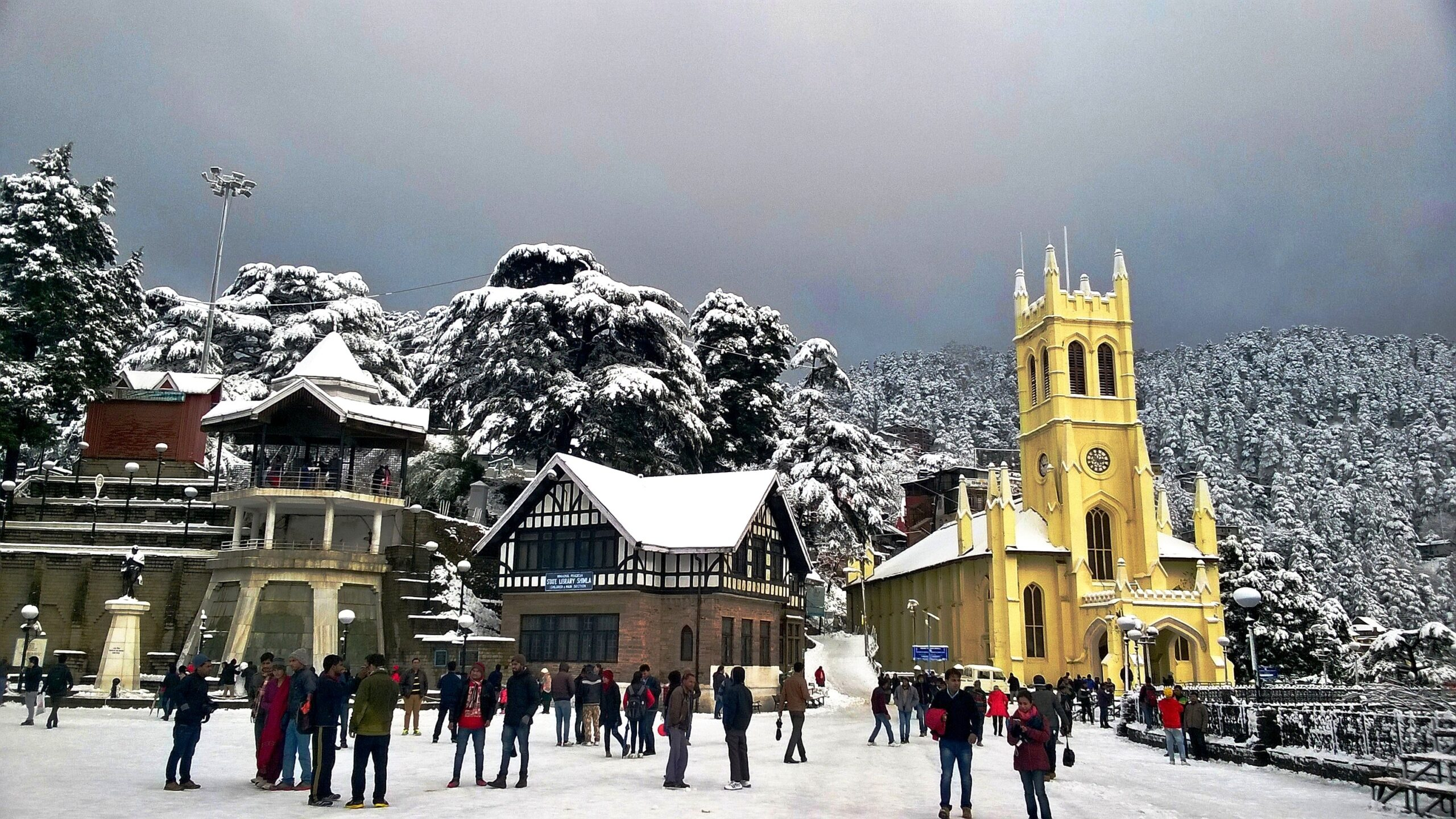9 In Shimla, romance for couples