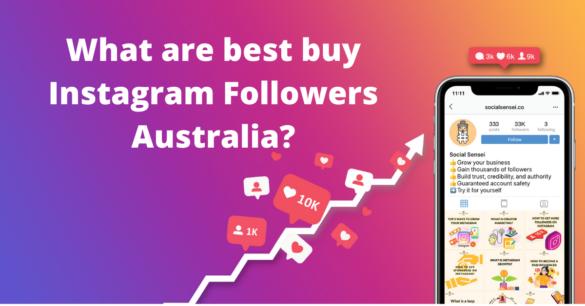 buy Instagram Followers Australia