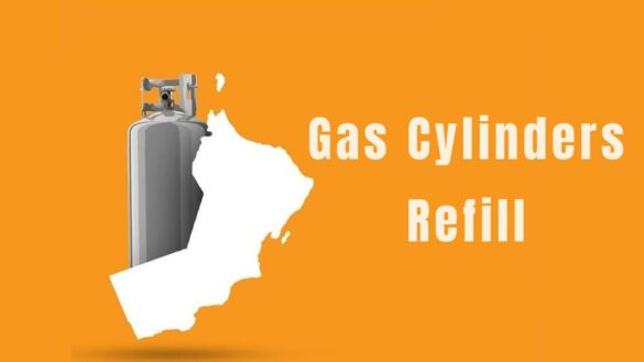 cooking gas refilling