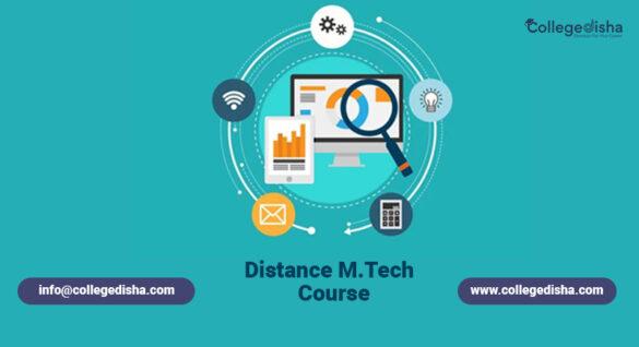 Distance M.tech Course